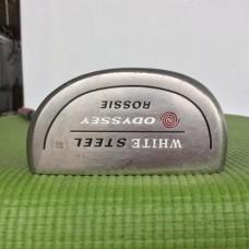 รหัสสินค้า P04 ไม้กอล์ฟ Putter White Steel Rossie ก้านเหล็ก