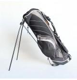 Gion กระเป๋ากอล์ฟผ้าร่ม มีขาตั้ง ( สีดำ - เทา )