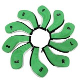 OMG Cover ไม้กอล์ฟใส่ชุดเหล็กเหล็กแบบ Zip Cover Iron Magic (Green)